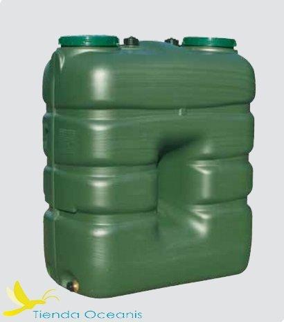 Depósito agua potable polietileno verde 2000 litros. - 786,55€ :