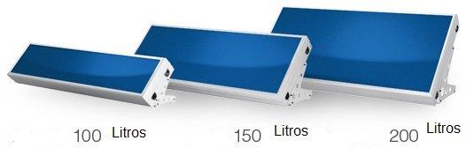 Kit compacto de energia solar termica de 100 litros 1 - Placa solar termica ...