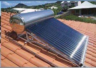 Paneles solares solar termica domestico 210 l tubos de - Placa solar termica ...