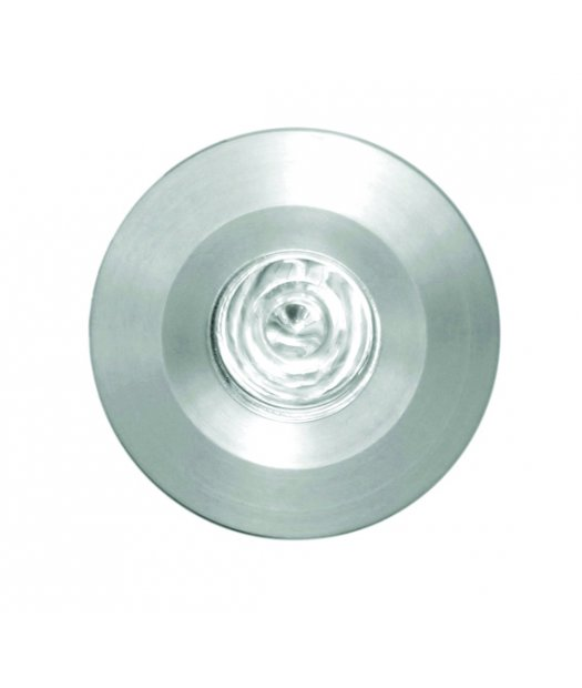 Downlights LED empotrables techo. LUXEON LED Blanco cálido 1,2W (350mA). Empotramiento redondo.