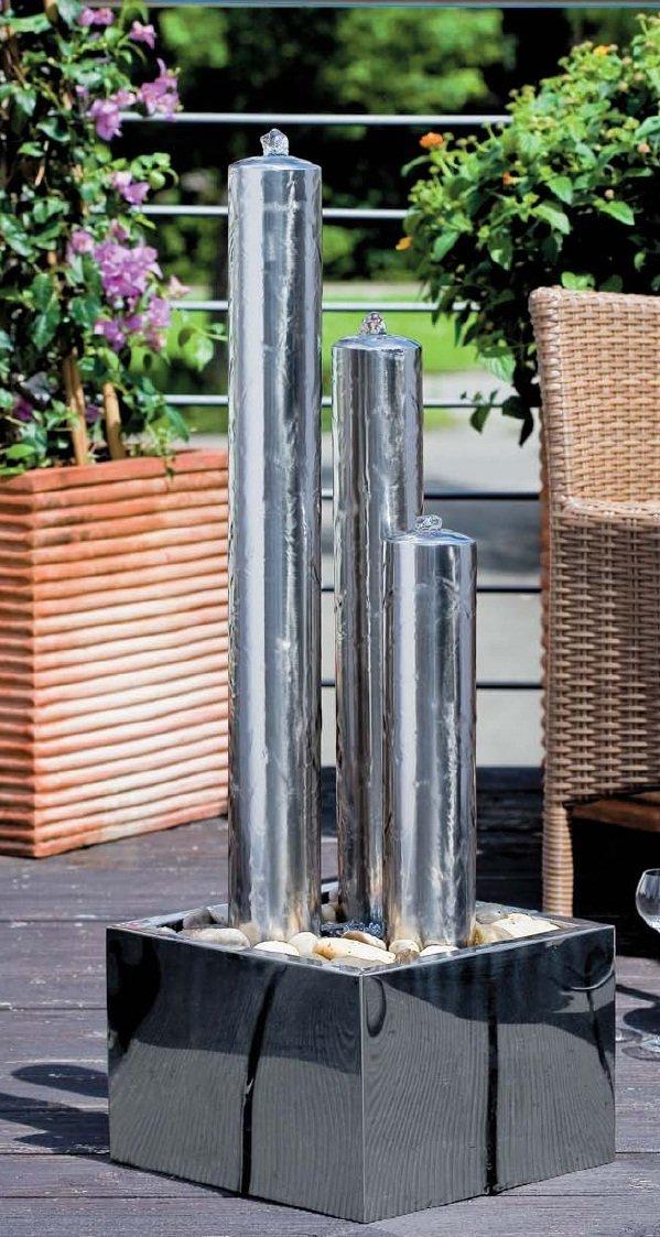 Fuente zen de exterior acero inox taurus 357 92 - Fuentes de exterior ...