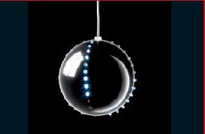 Bolas navidad led blanco bola de nieve 240v caja 3 - Tiras led navidad ...