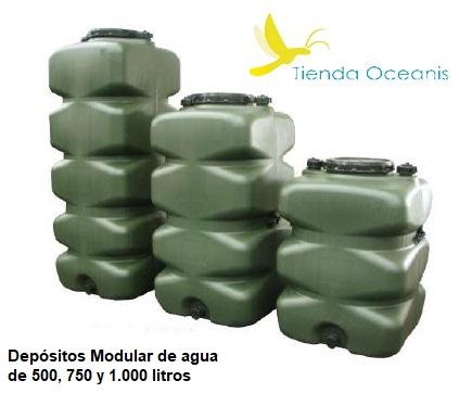Dep sito de agua y alimentario de 1000 litros polietileno for Estanque agua 500 litros