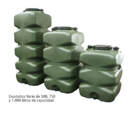 Deposito agua y alimentario de 1000 litros polietileno - Depositos de agua rectangulares ...